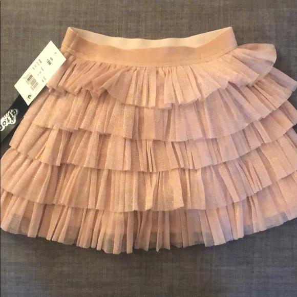 2111ec40f afton street Bottoms | Pink Metallic Tulle Skirt 18m | Poshmark
